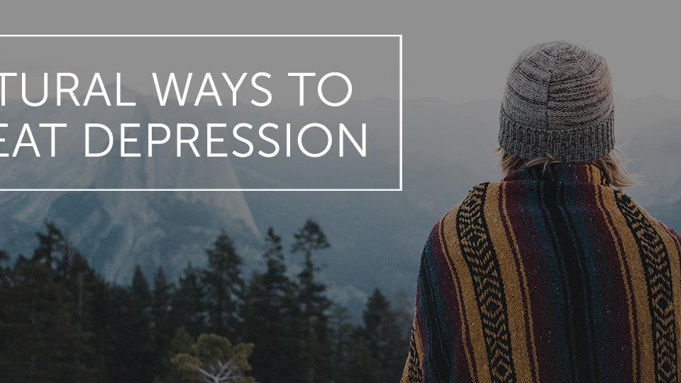 Natural Ways to Treat Depression · Dr. Alex