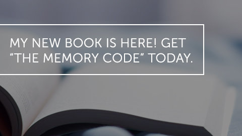 "My New Book Is Here! Get ""The Memory Code"" Today!"